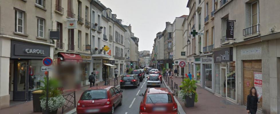 St Germain en Laye Centre Ville